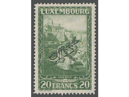 1931, 20Fr služební, MiNr.174, **