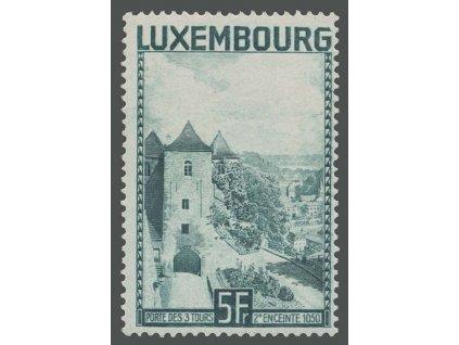 1934, 5Fr Věž, MiNr.258, **