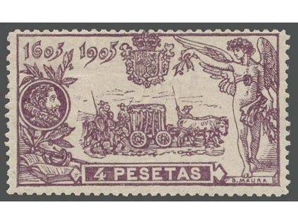 1905, 4 Pta Don Quijote, MiNr.228, **
