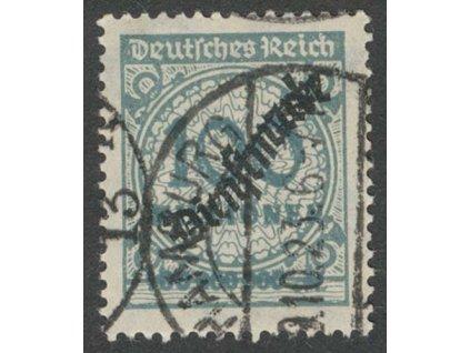 1923, 100 Mio M služební, MiNr.82, razítkované