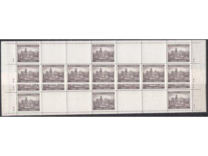 1940, 20K Praha, H+D pás, hvězdička, Nr.49, **, dvl