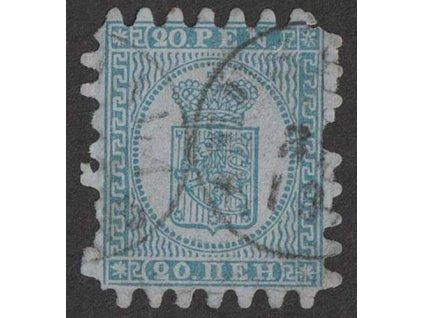 1866, 20P Znak, MiNr.8, razítkované