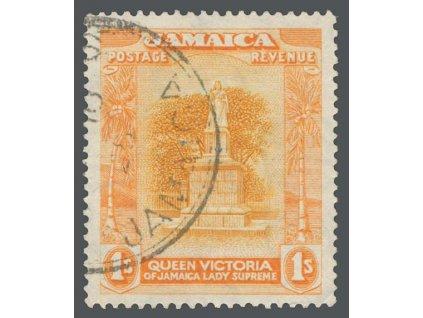 Jamajka, 1920, 1Sh Pomník, MiNr.83, razítkované