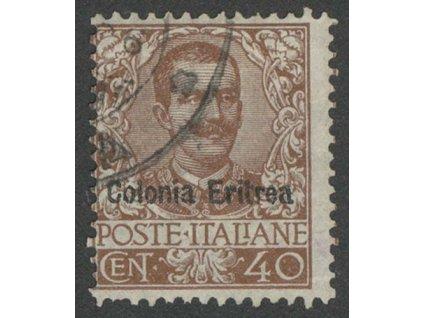Eritrea, 1903, 40C Emanuel, MiNr.25, razítkované