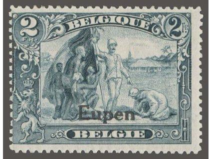 1920, Eupen, 2Fr s přetiskem Eupen, MiNr.12, **