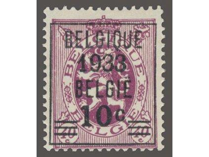 1933, 10C/40C Znak, MiNr.373, * po nálepce