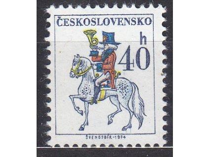 1974, 40h Postilión, papír bp, Nr.2112xa **
