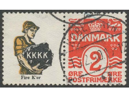 1913, soutisk MiNr.R32, razítkované
