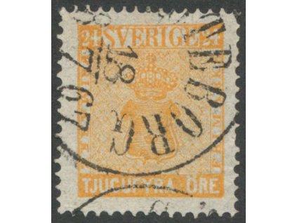 1858, 24 Ö Znak, MiNr.10, razítkované
