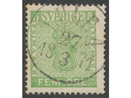 1858, 5 Ö Znak, MiNr.7, razítkované, dv