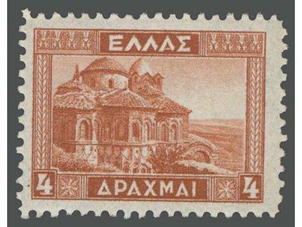 1935, 4 Dr Byzantský chrám, MiNr.373, **