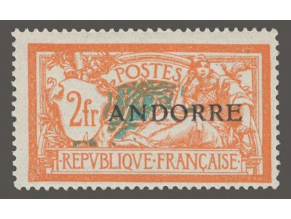 Francouzská, 1931, 2Fr Merson, MiNr.19, **