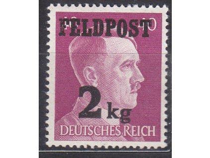 Německá zn., vydání pro polní poštu, platná v Protektorátu BuM, **