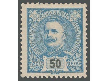 1895, 50 R Carlos, MiNr.130A, těžší *
