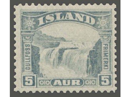 1931, 5A Vodopád, MiNr.150, * po nálepce