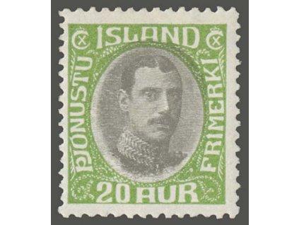 1920, 20A služební, MiNr.38, **