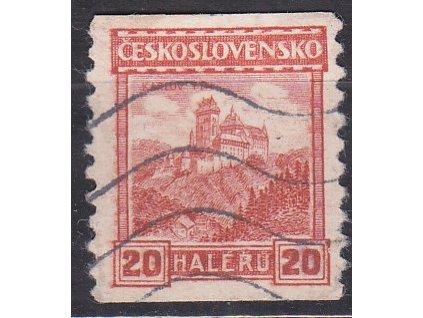 20h Karlův Týn, pr.6, Nr.209, razítkované