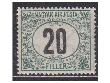 20f Doplatní - černé číslo, **, zn. platná v ČSR, ilustrační foto