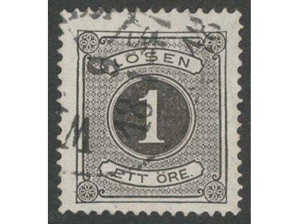 1874, 1 Ö doplatní, MiNr.1A, razítkované