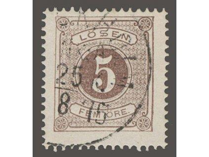 1874, 5 Ö doplatní, MiNr.3A, razítkované
