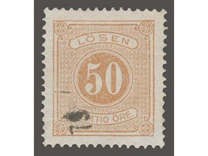 1874, 50 Ö doplatní, MiNr.9A, razítkované