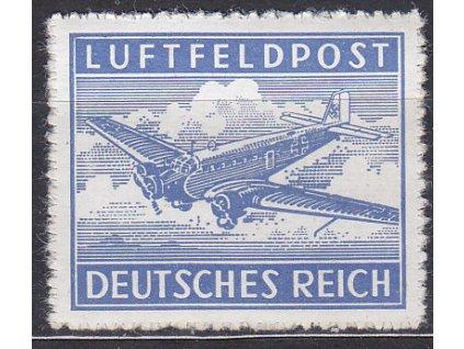 Německá letecká zn., průsek, platná v Protektorátu BuM, **, ilustrační foto