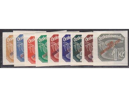 1939, 2h-1Ks Novinová série, NV.1-9, **, ilustrační foto