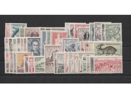 1955, kompletní ročník výplatních známek, ** , ilustrační foto