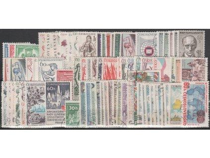 1961, kompletní ročník výplatních známek, razítkované, ilustrační foto