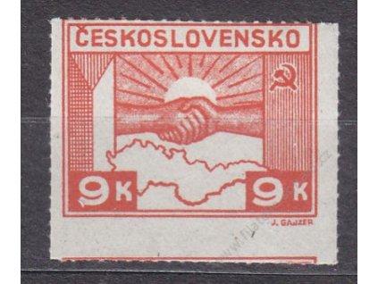 1945, 9K Košické, posun průseku do další zn., *