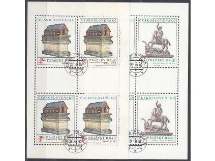 1982, 3-4Kčs PL - Pražský hrad, Nr.2549-50, razítkované, denní razítko