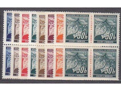 1939, 5-50h Ratolest, série, 4bloky, Nr.20-7, **