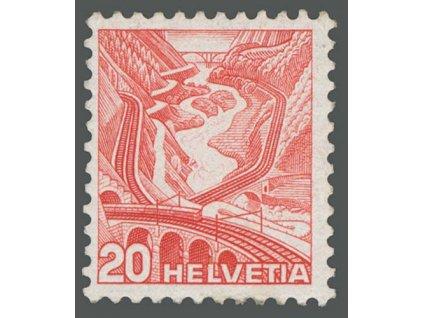 1938, 20C Most, typ I, MiNr.301I, * po nálepce