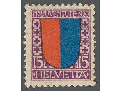 1920, 15C Znak, MiNr.155, **