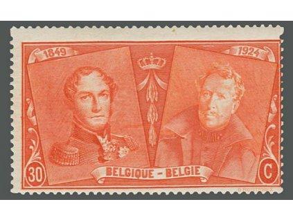 1925, 30C Výročí belgické známky, MiNr.195, **