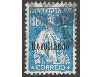 1929, 1.60 E Ceres, přetisk Revalidado, Nr.514, razítkované, dv