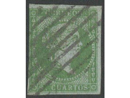 1855, 2 Cs Isabella, MiNr.31, razítkované