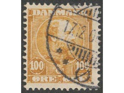 1904, 100Q Christian, MiNr.52I, razítkované