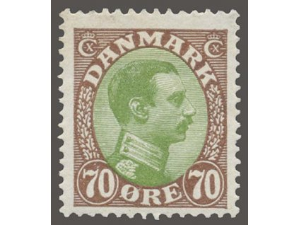 1918, 70Q Christian, MiNr.107, * po nálepce