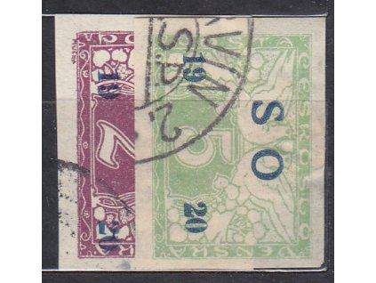 2-5h Spěšné, série, Nr.SO26-7, razítkované, ilustrační foto