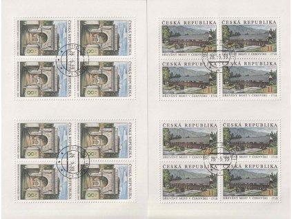 1999, 8-11Kč PL - Krásy naší vlasti, Nr.PL220-21, razítkované
