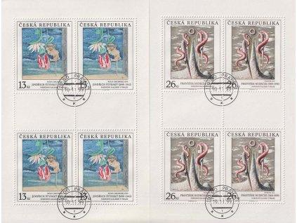 1999, 13 a 26Kč PL  - Umění 1999, Nr.PL237,PL239, razítkované