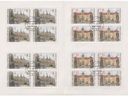 1998, 8-11Kč PL - Krásy naší vlasti, Nr.PL193-94, razítkované