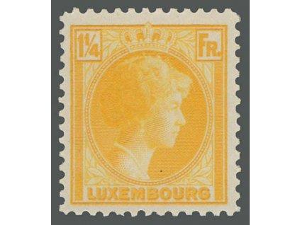 1930, 1 1/4 Fr Charlotte, MiNr.225, **