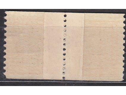1929, 20h Znak, svitková 2páska - přetržená a slepená, Nr.250A, **