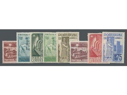1940, 10C-1.75E Výstavní série, MiNr.614-21, **