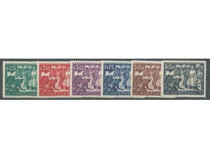 1947, 5C-3.50E série, MiNr.714-19, **
