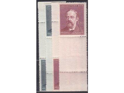 1944, 60h-1.20K Smetana, H+D kupon, Nr.118-19, **