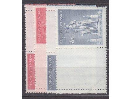 2.40-4Kčs Kozina, kupony, L+P, Nr.431-2, **
