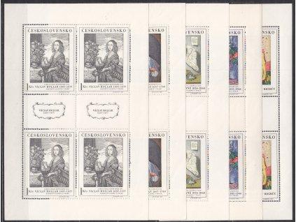 1966, 1Kčs Umění I, 5 hodnot, PL, Nr.PL1574-8, **